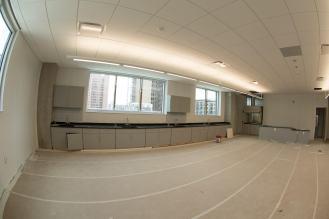 Science room of the 4th floor, NW corner of bldg