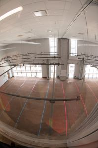 The new state of the art Dance Dept main dancefloor.